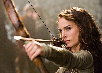 women, Natalie Portman, archers, Your Highness, archery, bow (weapon) - related desktop wallpaper
