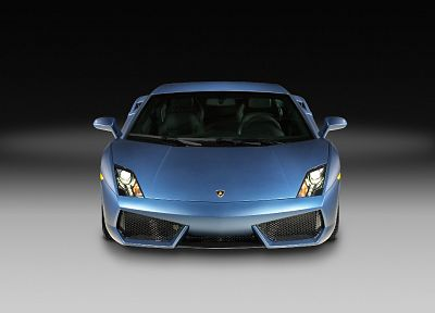 cars, police, vehicles, Lamborghini Gallardo, front view - related desktop wallpaper