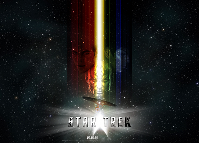Star Trek, Star Trek logos - random desktop wallpaper