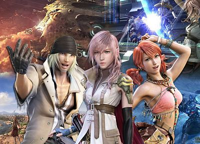 Final Fantasy XIII, Oerba Dia Vanille - related desktop wallpaper