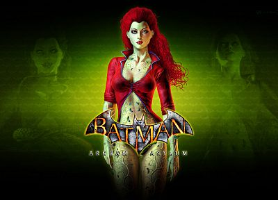 Poison Ivy, Batman Arkham Asylum - desktop wallpaper