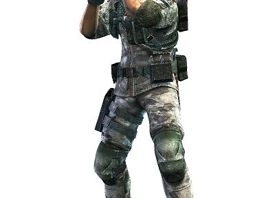 Resident Evil, Resident Evil Revelations, Chris Redfield - random desktop wallpaper