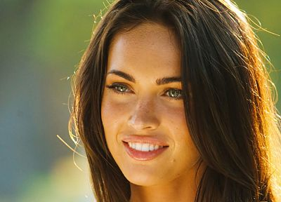 brunettes, women, Transformers, Megan Fox, actress, celebrity - related desktop wallpaper