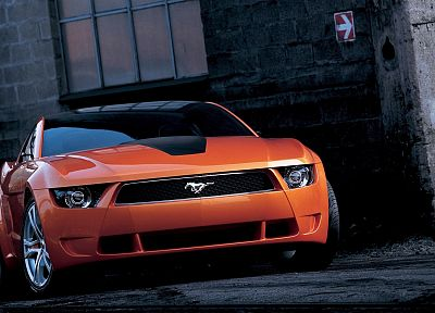 cars, muscle cars, vehicles, Ford Mustang, Ford Mustang Giugiaro - random desktop wallpaper