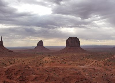 landscapes, nature, USA, Monument Valley - random desktop wallpaper
