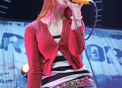 Hayley Williams, Paramore, women, music, redheads, celebrity, singers - random desktop wallpaper