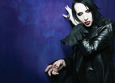 Marilyn Manson - random desktop wallpaper