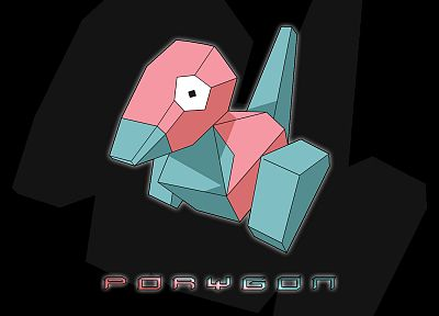 Pokemon, Porygon - random desktop wallpaper