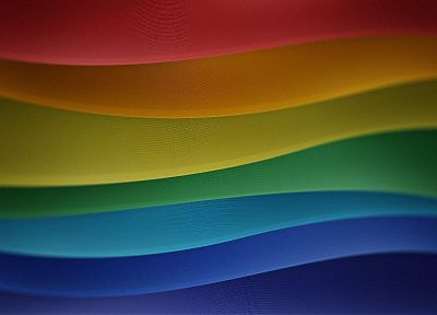 abstract, multicolor, waves, color spectrum - related desktop wallpaper