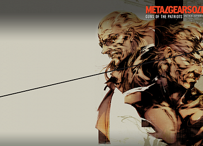 Metal Gear, video games, Metal Gear Solid, Solid Snake - desktop wallpaper