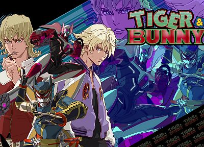 anime, Tiger And Bunny, Origami Cyclone, Brooks Barnaby, Ivan Karelin, Barnaby Brooks - random desktop wallpaper