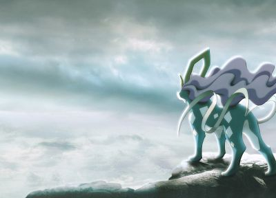 Pokemon, Suicune - random desktop wallpaper