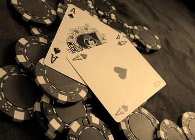 cards, poker, poker chips, chips - random desktop wallpaper
