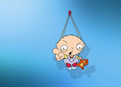 Family Guy, Stewie Griffin, pointing - desktop wallpaper