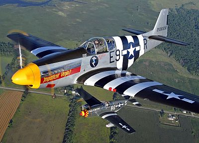 aircraft, military, World War II, Warbird, fighters - related desktop wallpaper
