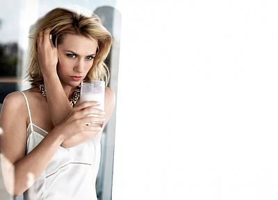 blondes, women, actress, January Jones - random desktop wallpaper