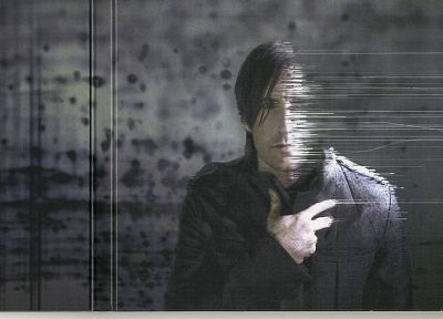 Nine Inch Nails, Trent Reznor - random desktop wallpaper