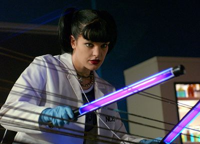 Pauley Perrette, Abby Sciuto, NCIS - random desktop wallpaper