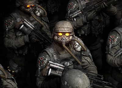 video games, Killzone, Hellghast - random desktop wallpaper