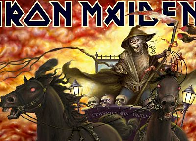 music, Iron Maiden, Eddie the Head - random desktop wallpaper