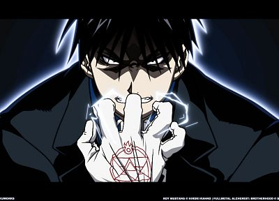 Fullmetal Alchemist, Roy Mustang - related desktop wallpaper
