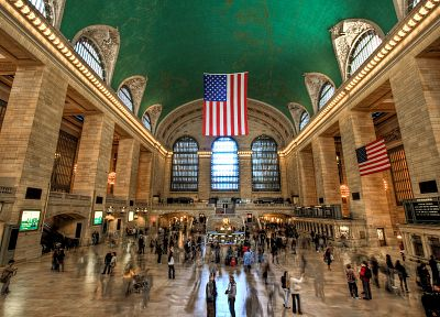 New York City, train stations, Grand Central Terminal - related desktop wallpaper
