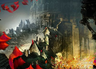 video games, Guild Wars, Guild Wars 2, 3D, Daniel Dociu - related desktop wallpaper