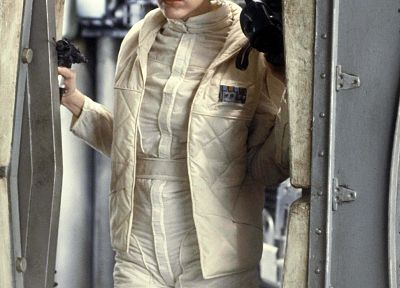 Star Wars, Carrie Fisher, Leia Organa, jumpsuit - related desktop wallpaper