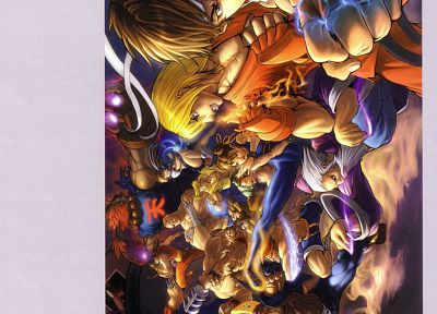 video games, Street Fighter, artbook, artwork - random desktop wallpaper