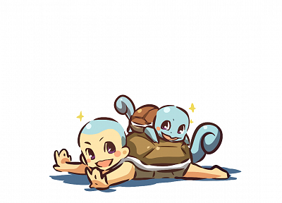 Pokemon, Squirtle, simple background, Hitec - random desktop wallpaper