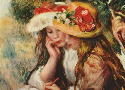 paintings, artwork, Renoir - random desktop wallpaper