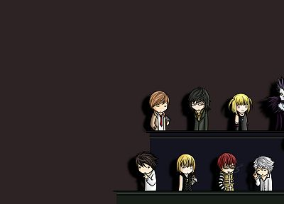 Death Note, Ryuk, Yagami Light, Kira - desktop wallpaper