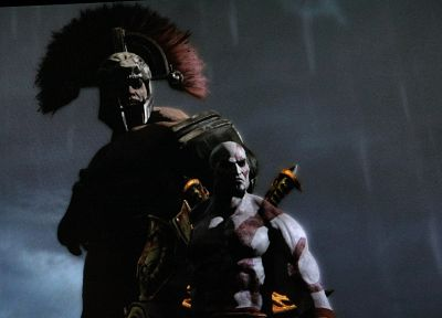 Hercules, God Of War 3, Kratos - random desktop wallpaper