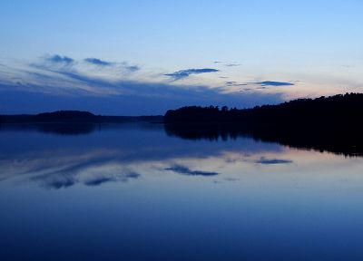 sunset, nature, Poland, mazury - random desktop wallpaper