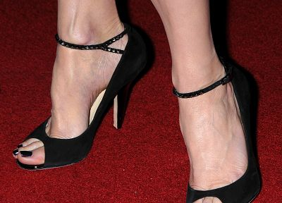 women, feet, toes, high heels, veiny, pumps, arched feet, open toed shoes - random desktop wallpaper