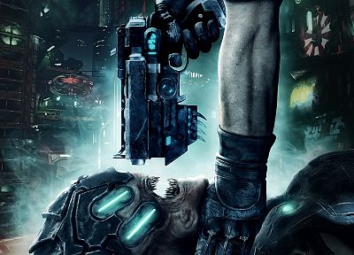 guns, futuristic, hands, weapons, creatures, Prey 2 - random desktop wallpaper