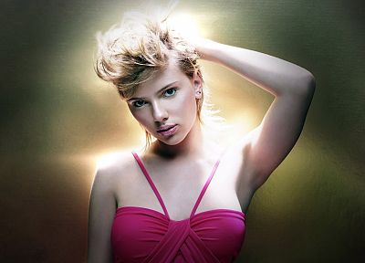 women, Scarlett Johansson - random desktop wallpaper