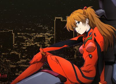 Neon Genesis Evangelion, bodysuits, Asuka Langley Soryu - related desktop wallpaper