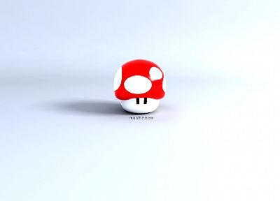 Mario, mushrooms - related desktop wallpaper