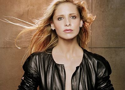 women, Sarah Michelle Gellar - random desktop wallpaper