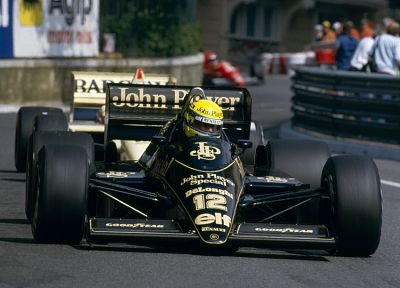Ayrton Senna, Lotus, formula one circuit - random desktop wallpaper
