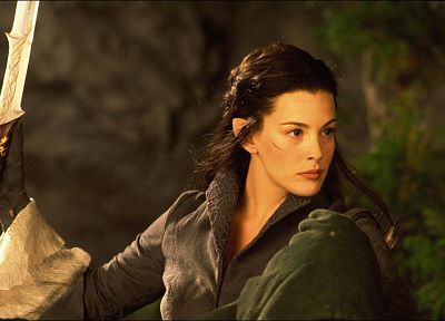 women, movies, Liv Tyler, The Lord of the Rings, Arwen Undomiel, The Fellowship of the Ring - random desktop wallpaper