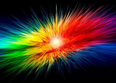 abstract, multicolor, explosions, liquid - random desktop wallpaper