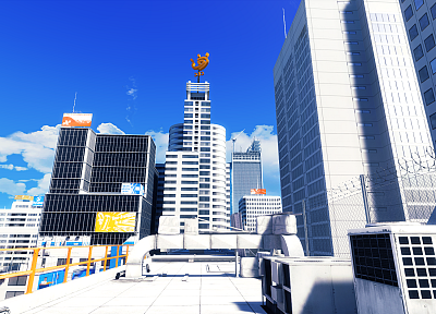 Mirrors Edge - random desktop wallpaper