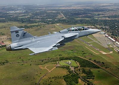 aircraft, military, planes, Jas 39 Gripen, South African Air Force - desktop wallpaper