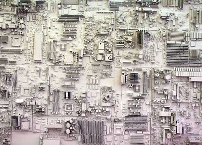 geek, circuit board - random desktop wallpaper