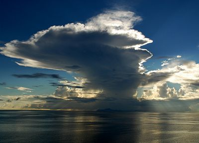 ocean, clouds, skyscapes - random desktop wallpaper