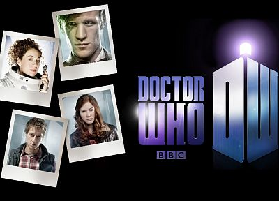 Matt Smith, Amy Pond, Eleventh Doctor, Doctor Who, River Song, Rory Williams - random desktop wallpaper