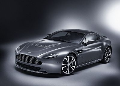 cars, Aston Martin, gray, silver, vehicles - desktop wallpaper