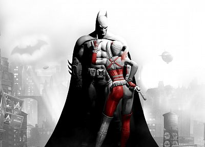 Batman, video games, DC Comics, Harley Quinn, Arkham City, Batman Arkham City - related desktop wallpaper